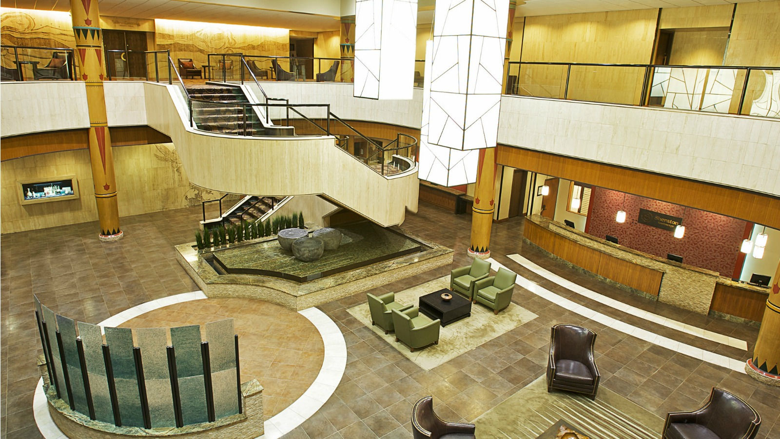 Sheraton Anchorage Hotel & Spa - Lobby