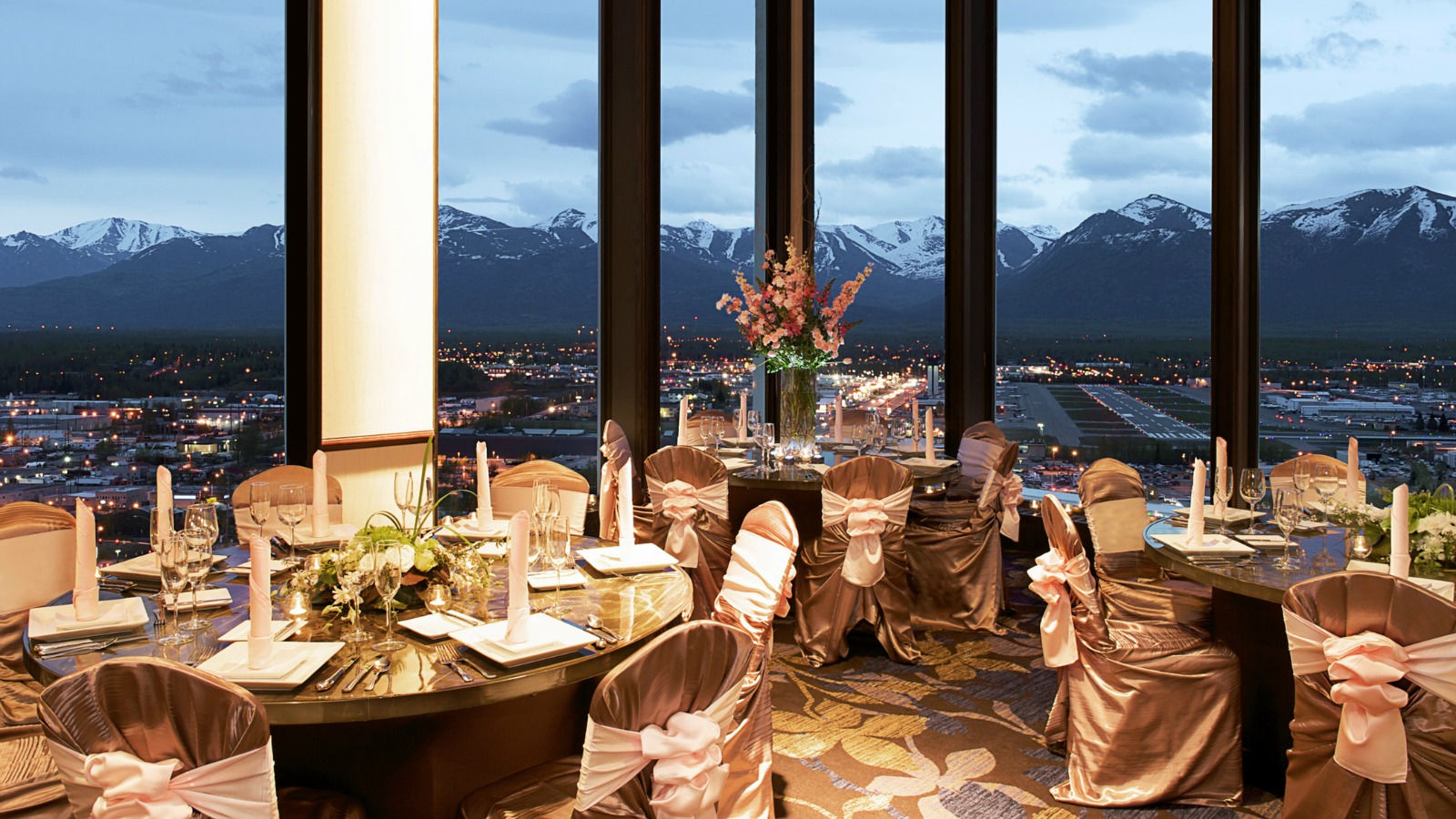 Anchorage Meeting Facilities - Banquet Room View