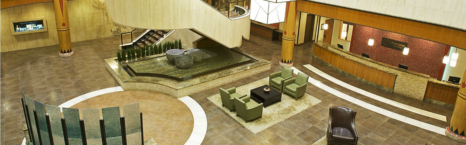 Sheraton Anchorage Hotel - Lobby