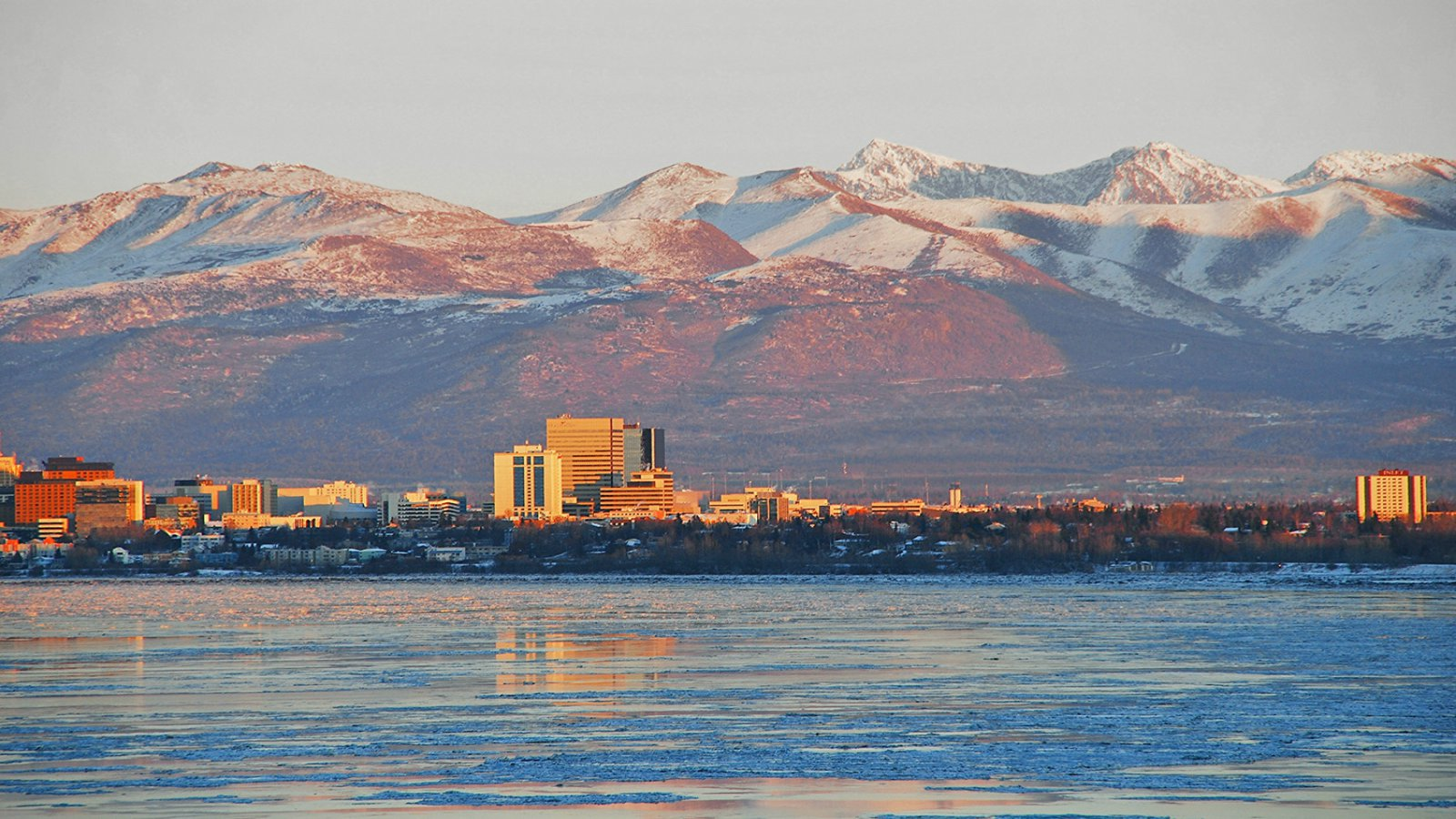 Local Area - Sheraton Anchorage Hotel & Spa